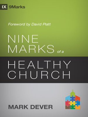 cover image of Nine Marks of a Healthy Church ()