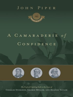 cover image of A Camaraderie of Confidence