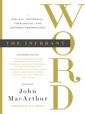 cover image of The Inerrant Word