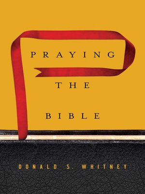 cover image of Praying the Bible