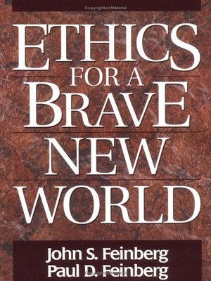 cover image of Ethics for a Brave New World