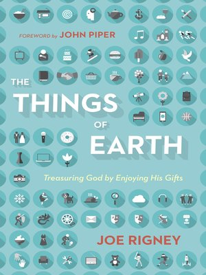 cover image of The Things of Earth
