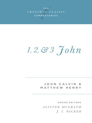 cover image of 1, 2, and 3 John