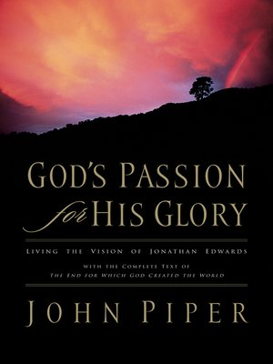 cover image of God's Passion for His Glory