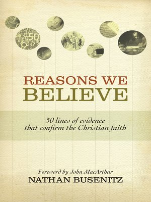 cover image of Reasons We Believe (Foreword by John MacArthur)