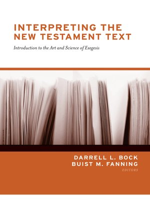 cover image of Interpreting the New Testament Text