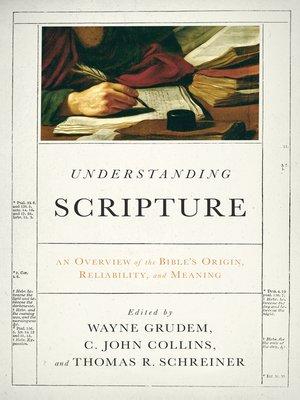 cover image of Understanding Scripture