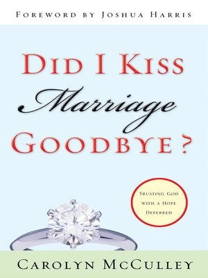 kiss dating goodbye ebook Read i kissed dating goodbye a new attitude toward relationships and romance by joshua harris with rakuten kobo joshua harris's first book, written when he was only 21, turned the christian singles scene upside downand people are.