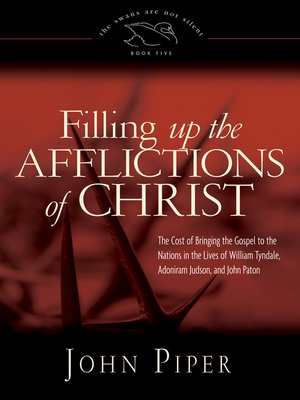 cover image of Filling Up the Afflictions of Christ