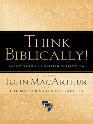 cover image of Think Biblically! (Trade Paper)