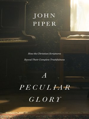 cover image of A Peculiar Glory