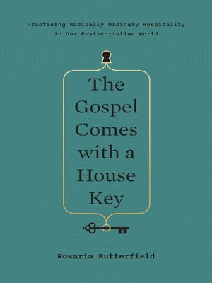 cover image of The Gospel Comes with a House Key