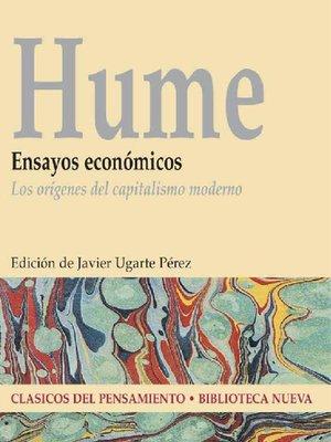 cover image of Ensayos económicos