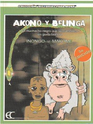 cover image of Akono y Belinga