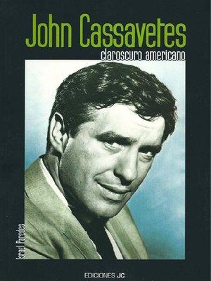 cover image of John Cassaveter