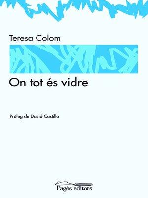 cover image of On tot és vidre