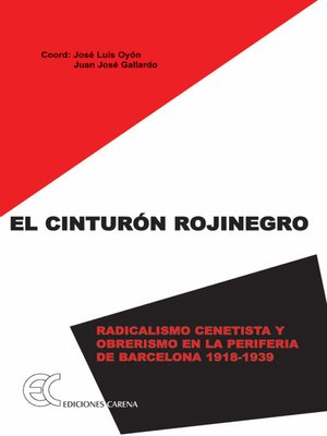 cover image of El cinturón rojinegro