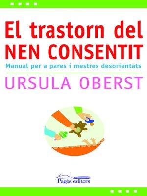 cover image of El transtorn del nen consentit