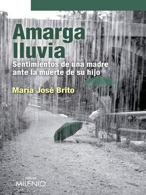cover image of Amarga lluvia