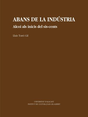 cover image of Abans de la indústria