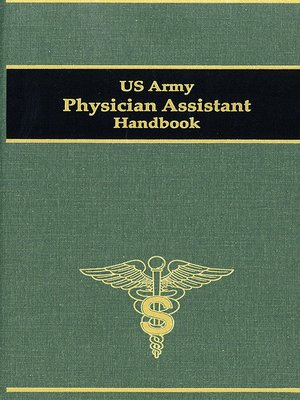 cover image of US Army Physician Assistant Handbook