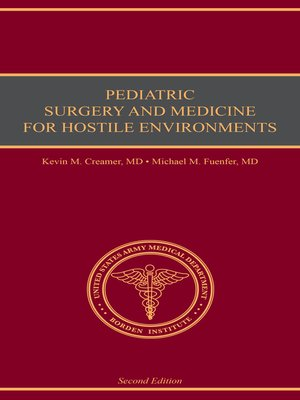 cover image of Pediatric Surgery and Medicine for Hostile Environments