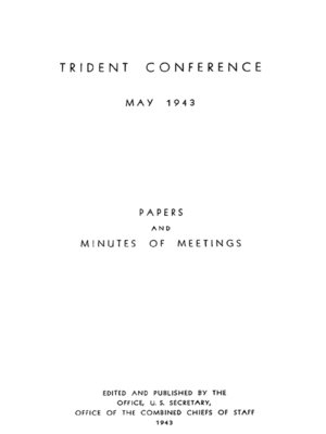 cover image of The Trident Conference: May 1943