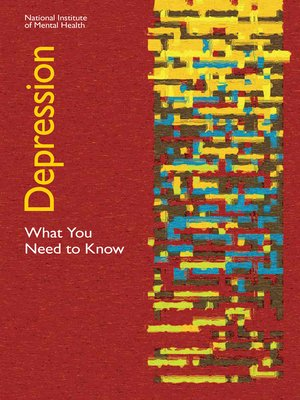 cover image of Depression: What You Need to Know