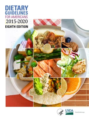 cover image of Dietary Guidelines for Americans 2015-2020