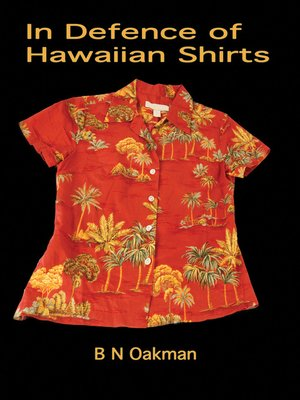 cover image of In Defence of Hawaiian Shirts