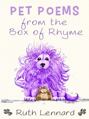 cover image of Pet Poems from the Box of Rhyme