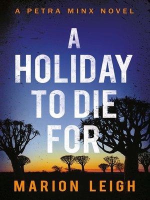 cover image of A Holiday to Die For
