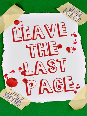 cover image of Leave the Last Page