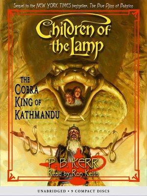cover image of The Cobra King of Kathmandu