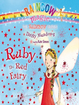 cover image of Ruby the Red Fairy