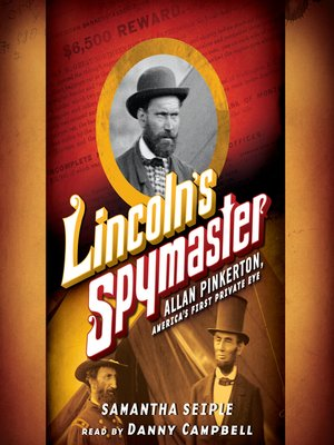 cover image of Lincoln's Spymaster