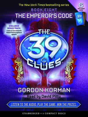 The 39 cluesseries overdrive rakuten overdrive ebooks the emperors code the 39 clues fandeluxe Images