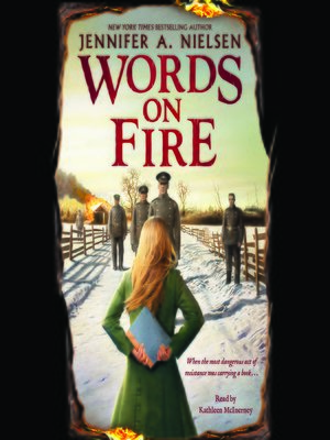 cover image of Words on Fire
