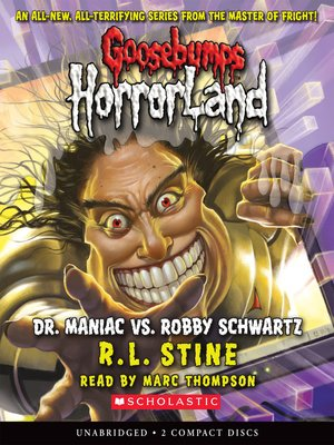 cover image of Dr. Maniac Vs. Robby Schwartz