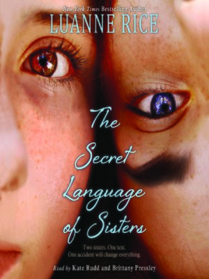cover image of The Secret Language of Sisters