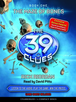 The 39 cluesseries overdrive rakuten overdrive ebooks the maze of bones the 39 clues fandeluxe Gallery
