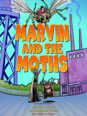 cover image of Marvin and the Moths