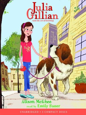cover image of Julia Gillian (and the Art of Knowing)