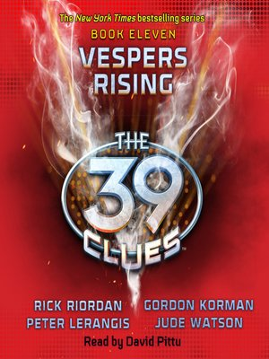 The 39 cluesseries overdrive rakuten overdrive ebooks cover image of vespers rising fandeluxe Gallery