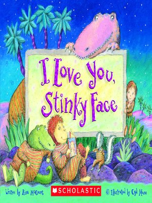 cover image of I Love You, Stinky Face