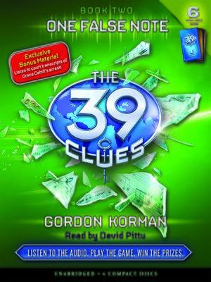 Gordon korman overdrive rakuten overdrive ebooks audiobooks cover image of one false note fandeluxe Images