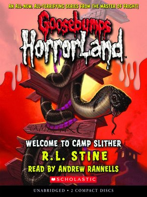 cover image of Welcome to Camp Slither