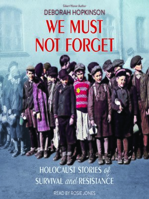 cover image of We Must Not Forget