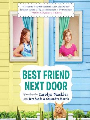 cover image of Best Friend Next Door