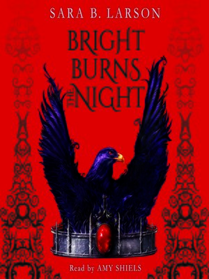 cover image of Bright Burns the Night